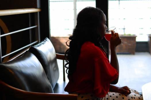 Sitting Drinking Tea Free Photo #401723