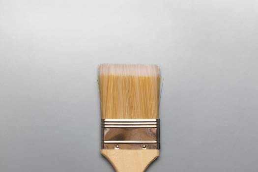 Wide Paint Brush Free Photo Free Photo