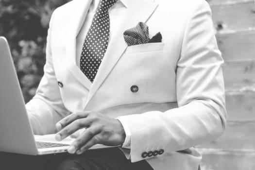 Man White Suit Free Photo Free Photo