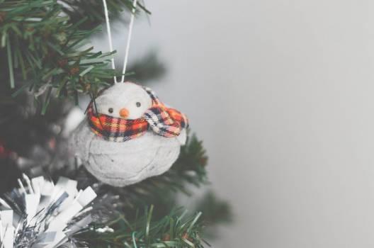 Snowman Decoration Christmas Tree Free Photo #401801