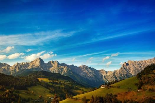 Beautiful Mountain View Free Photo #401848