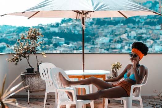 Woman Bikini Relaxed Free Photo #401903