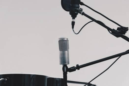 Microphone Equipment Free Photo #401918