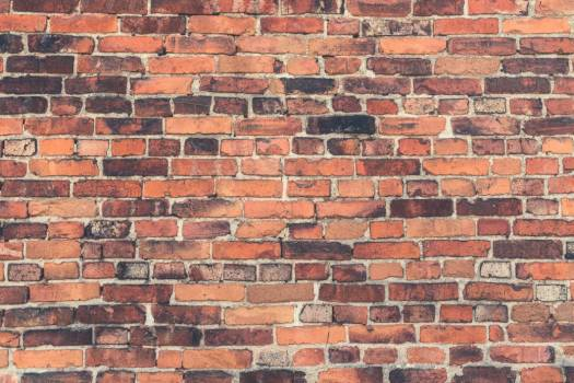 Red Brick Wall Free Photo #401924