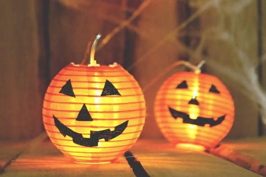Halloween Pumpkin Lantern Candle Free Photo #401928