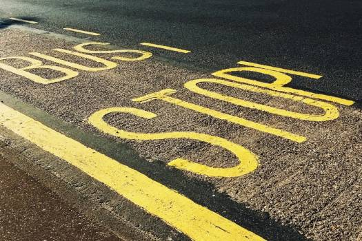 Bus Stop Signage Free Photo #401955
