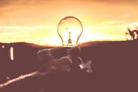 Holding Light Bulb Free Photo #401963