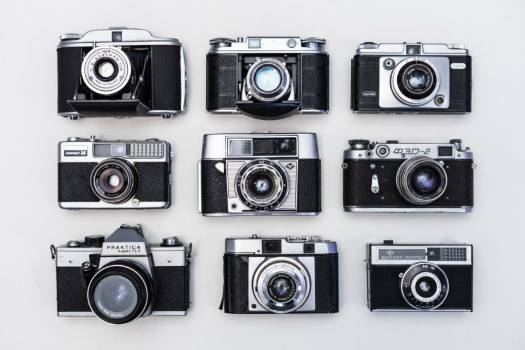 Vintage Camera Collection Free Photo #401972