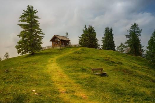 Log Cabin Hill Free Photo #401981