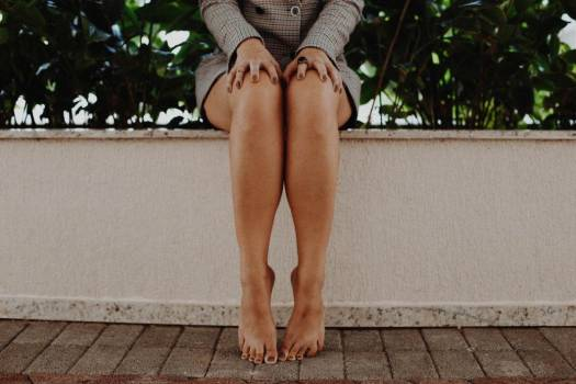 Legs Barefoot Woman Free Photo #402001