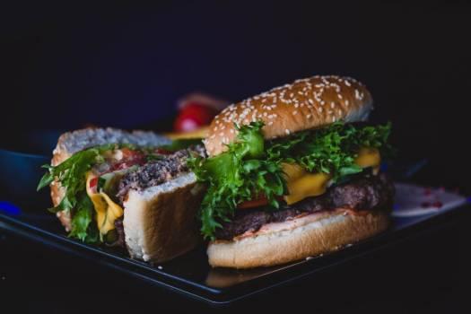 Fresh Cooked Hamburger Free Photo Free Photo