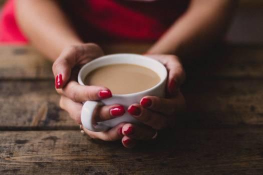 Woman Holding Coffee Free Photo #402040