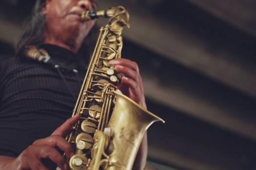 Man Playing Saxophone Free Photo Free Photo