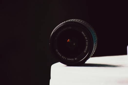 Minimal Black Camera Lens Free Photo #402071