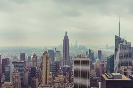 New York City Skyline Free Photo #402080