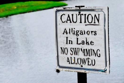 Caution Sign Danger Free Photo #402208