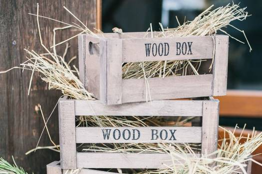 Stack Wood Box Free Photo #402224