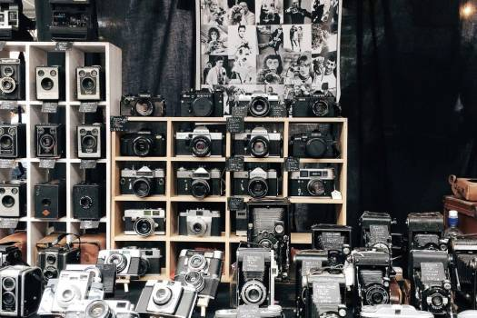 Vintage Camera Store Free Photo #402271