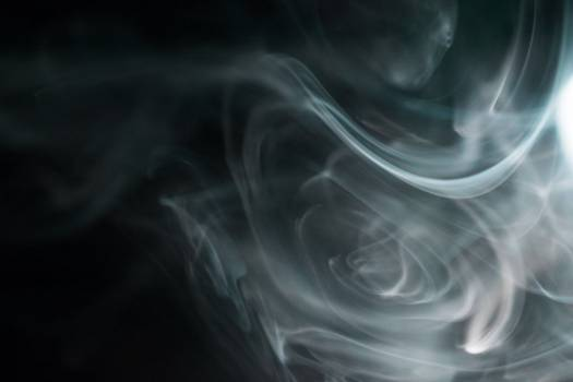 Black & White Mysterious Smoke Free Photo Free Photo
