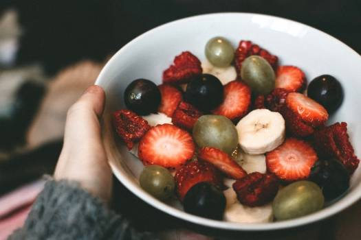 Bowl Fruit Strawberry Free Photo #402320