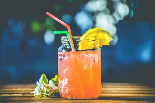 Orange Cocktail Drink Free Photo #402324