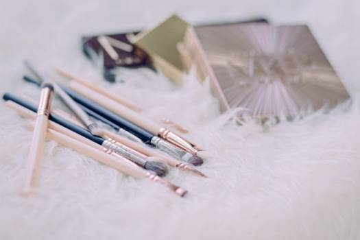 Mixed Make-Up Brushes Free Photo Free Photo