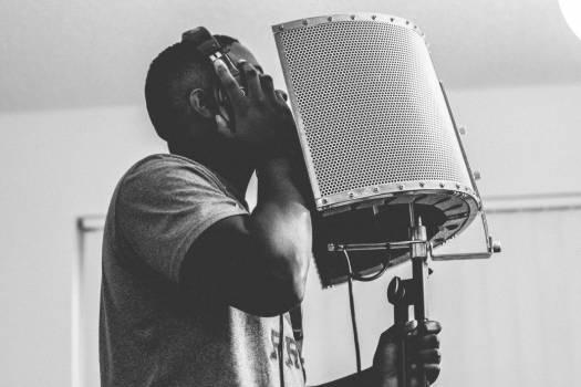 Man Singing Studio Free Photo #402368