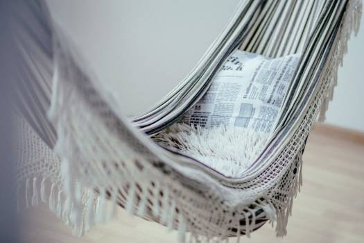 White Hammock Relax Free Photo Free Photo