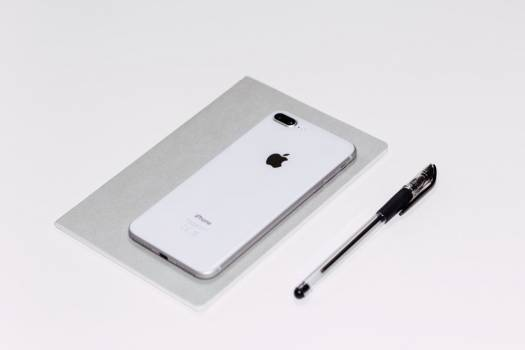 iPhone White Pen Minimal Free Photo #402556