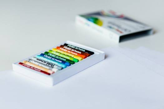 Color Crayons Free Photo #402562
