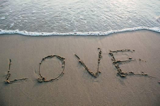 Love Sand Beach Ocean Free Photo #402577