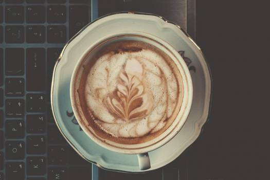 Cappuccino Coffee Pattern Free Photo #402672