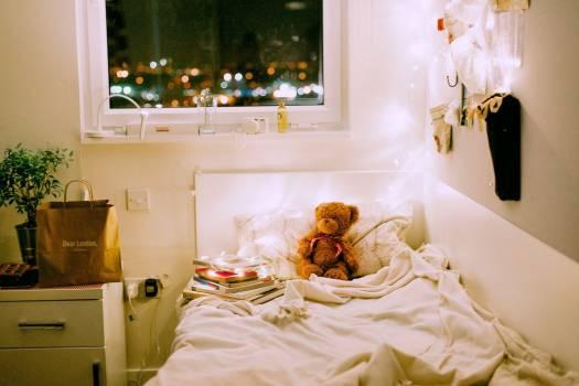 Bedroom Teddy Bokeh Free Photo #402730