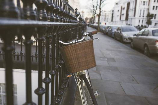 Classic Bike Street Woman Free Photo Free Photo
