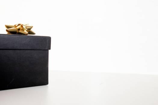 Black Christmas Gift Box Free Photo Free Photo