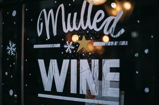 Mulled Wine Window Sign Free Photo #402757