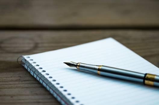 Pen Notebook Writing Free Photo Free Photo