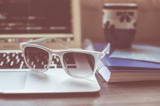 Coffee Cup Sunglasses MacBook Free Photo Free Photo