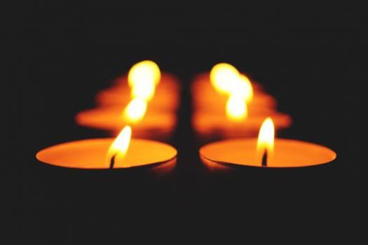 Candle Light Fire Dark Free Photo Free Photo