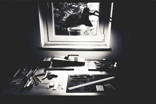 Desk Tools Drawing Artist Free Photo #402899