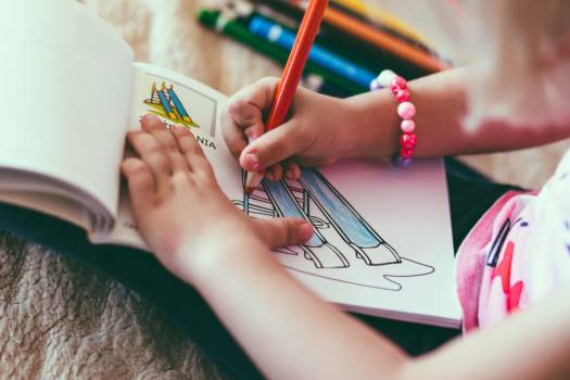 Child Drawing Pencil Notepad Color Free Photo #402966