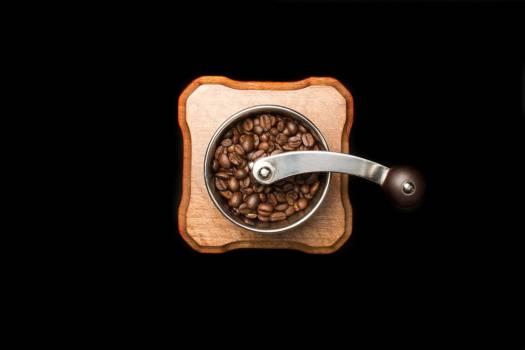 Coffee Grinder Overhead Black Free Photo #402973
