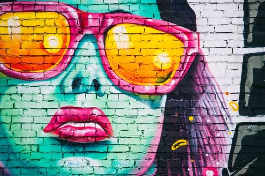 Graffiti Street Art Woman Color Free Photo #403072