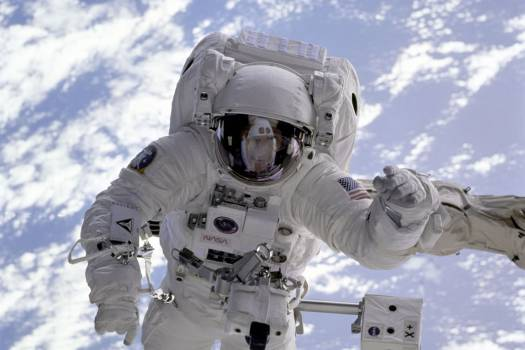 Astronaut Sky Orbit Earth Free Photo #403085