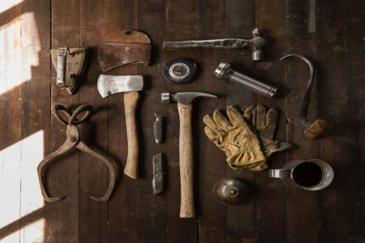 Vintage Carpenter Tools Free Photo #403089