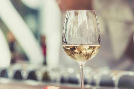 Glass White Wine Free Photo #403090
