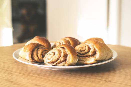 Breakfast Pastry Plate Free Photo Free Photo