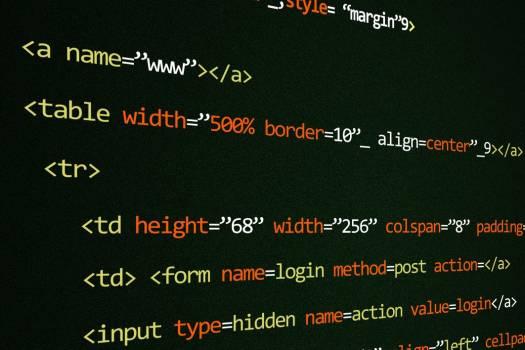 Bold HTML Code Free Photo #403126