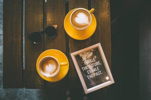 Coffee Wood Table Sunglasses Free Photo #403190