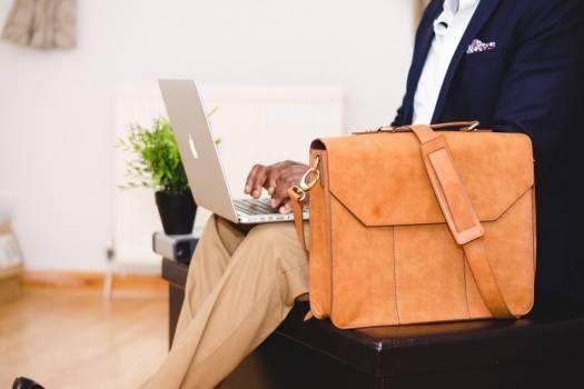 Business Man MacBook Satchel Free Photo #403194